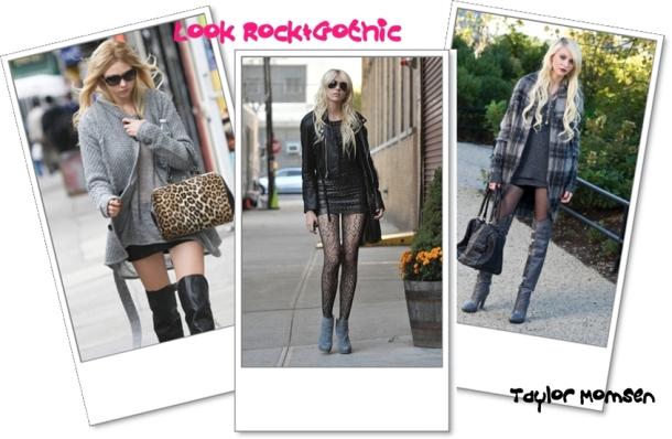 Look Rock&Gothic Taylor Momsen