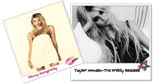 Taylor Momsen&Jenny Humphrey