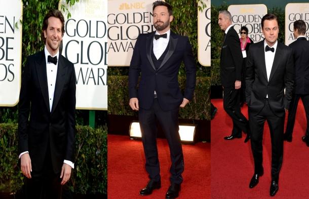 Ben Affleck- Leonardo di caprio- Bradley Cooper