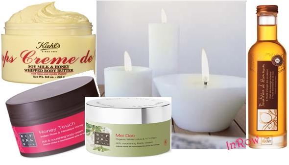 Cremas y aceites para masajes