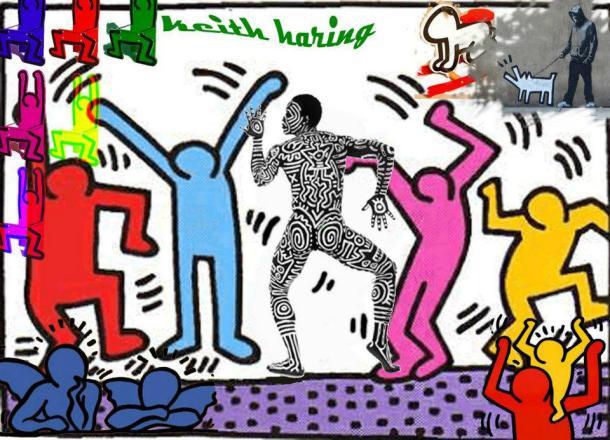 Keith Haring obra