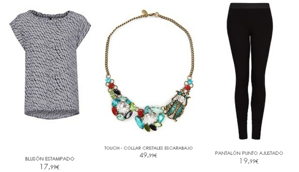 Look black con color MANGO