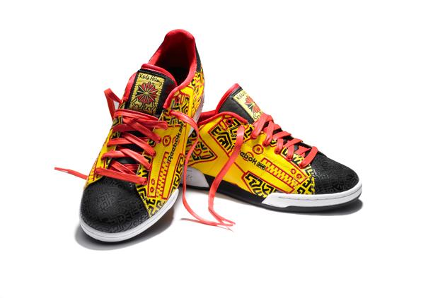 zapatillas de Reebok en colaboración con la Fundación Keith Haring 2