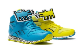 Reebok y Keith Harring: Un diseño solidario