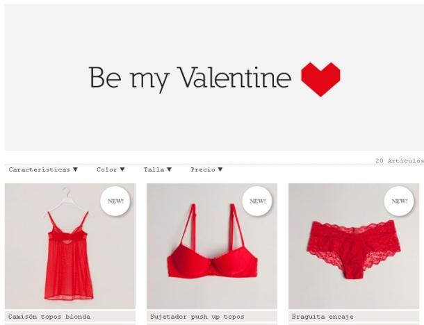 Be my San Valentin Oysho 1