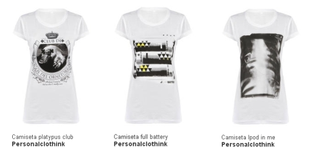 Camisetas mujer personalclothink