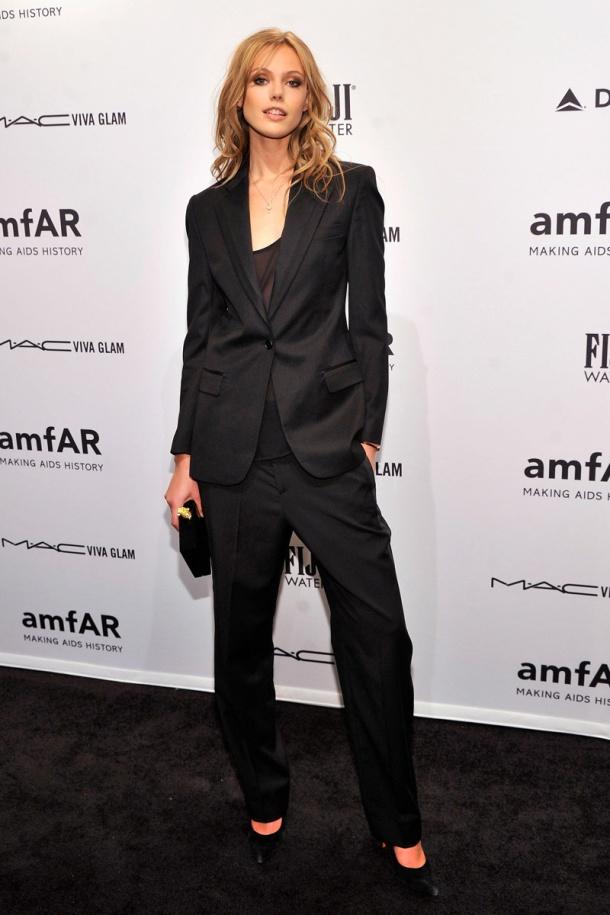 Frida Gustavsson_ gala amfAR_nueva york