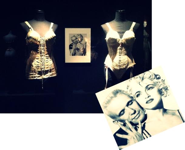 Gaultier y Madonna