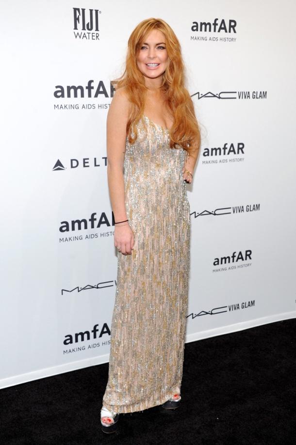 Lindsay Lohan _gala amfAR_nueva york