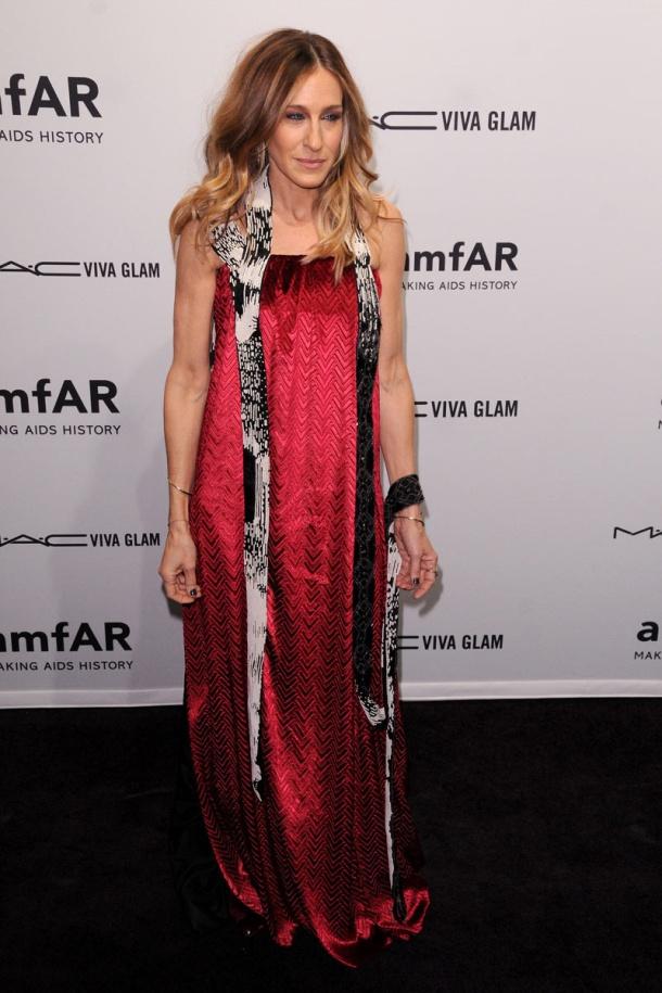 Sara Jessica Parker gala amFAR nueva york