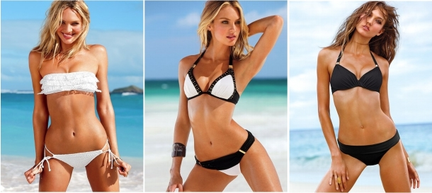 Bikini Black and White Victorias Secret