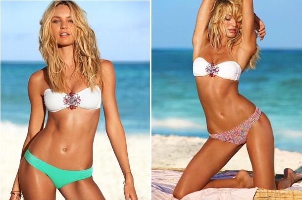 Bikinis bicolor Victorias Secret