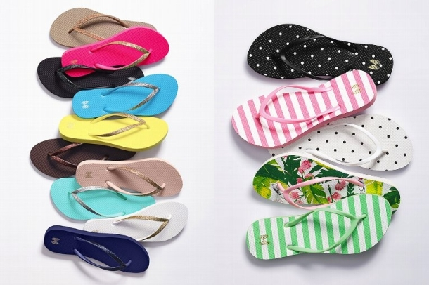 Chanclas para la playa Victorias Secret