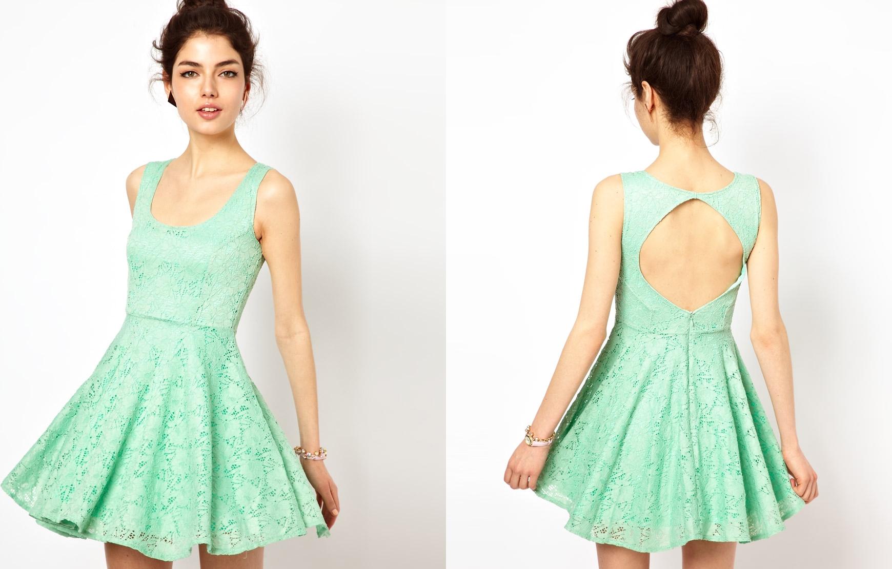 Imagenes de vestidos verde menta para ninas