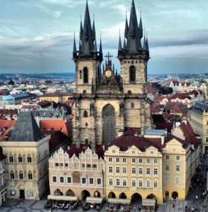 Praga Iglesia Nuestra Senora de Tyn