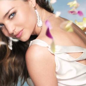 Miranda Kerr…imagen deSwarovski