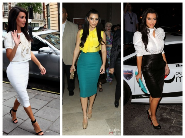 falda tubo kim kardashian_Fotor_Collage